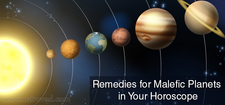 Remedies for Malefic Planets in Your Horoscope