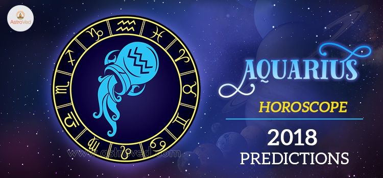 Aquarius Horoscope 2018 - 2018 Horoscope Predictions for