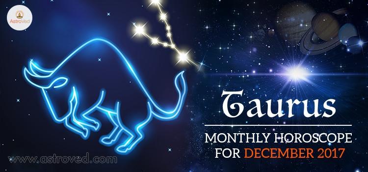 horoscope december for taurus