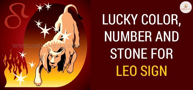 Leo Lucky Color, Leo Lucky Number ,Leo Lucky Stone - 2019