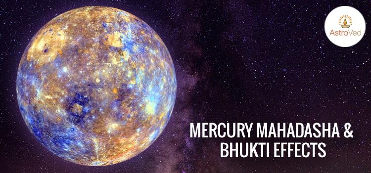 Mercury Mahadasha and Bhukti Effects, Budha Mahadasha and