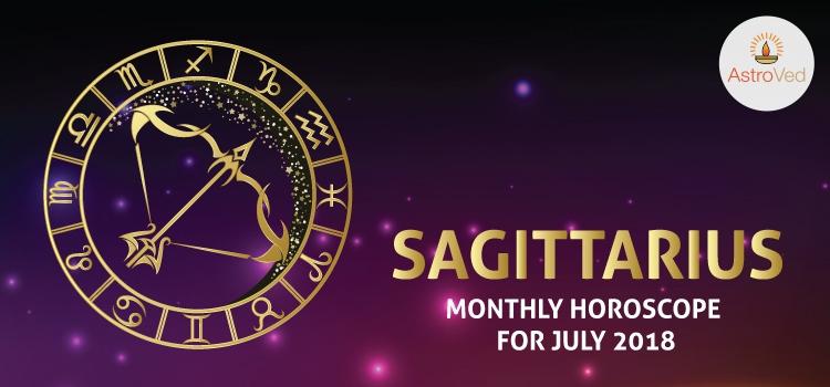 July 2018 Sagittarius Monthly Horoscope, Sagittarius July