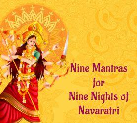 Nine Mantras for Nine Nights of Navaratri