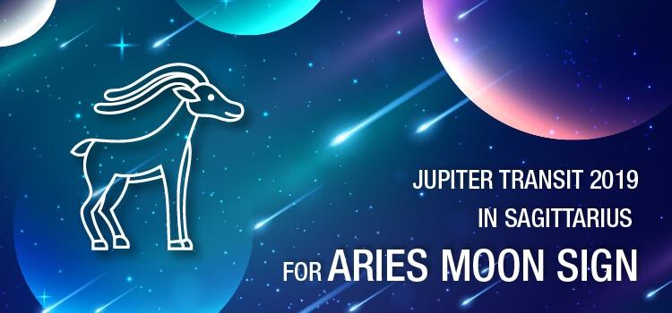 Jupiter Transit 2019 in Sagittarius For Aries Moon Sign