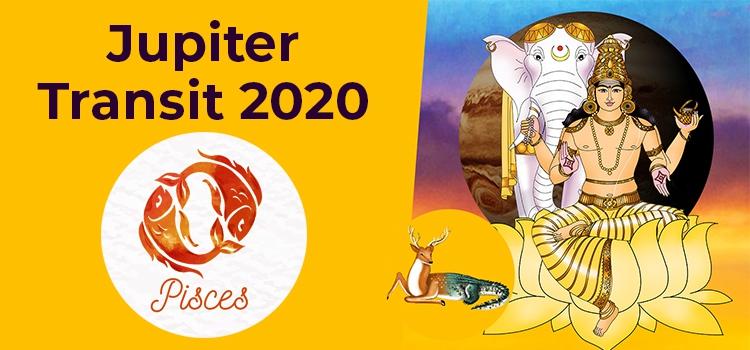 Jupiter Transit 2020 in Capricorn For Pisces Moon Sign