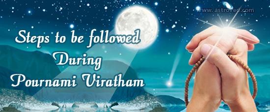 Pournami Vratham– Fasting on the Full Moon