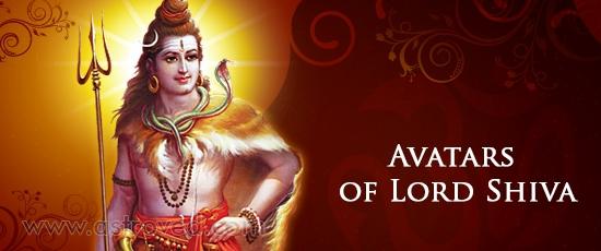 Avatars of Lord Shiva
