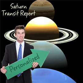 Personalized Saturn Transit Prediction Report