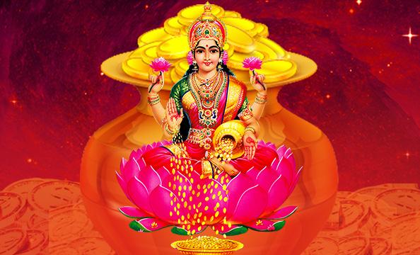 Lakshmi Virtual Pooja, Online Lakshmi Puja, Goddess Lakshmi