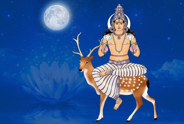 Moon Virtual Pooja, Online Moon Puja, Lord Chandra Pooja