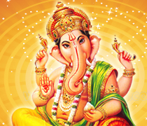 Ganesha with Left Sided Trunk