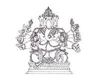 Siddhi and Buddhi Ganapati
