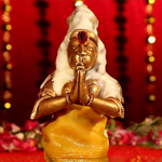 Abishekam: Venna Kappu for Lord Hanuman