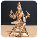 Energized 5 Inch 5 Metal Varahi Statue