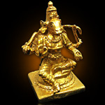 Energized 1.5 Inch 5 Metal Varahi Statue