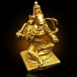 Energized 1.5-Inch 5-Metal Varahi Statue