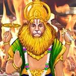 Nava Narasimha Homa (9 Divine Forms of Narasimha Blessings Fire Lab)