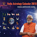 AstroVed Calendar 2018