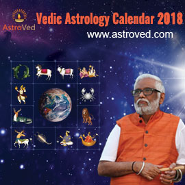 AstroVed's 2018 Calendar
