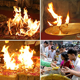 Four Aadi Fridays (4 Goddess Fridays) Ceremonies