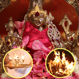 MANGALAMBIKA HOMA (INVINCIBLE POWER BESTOWER FIRE LAB) PACKAGE