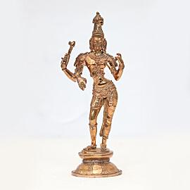 Energized 6 Inch Ardhanareeswara Statue
