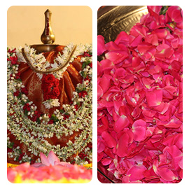Bhagavati Seva Pooja on First Day of Aadi Month