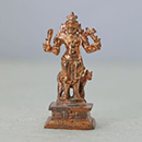 Energized Two Inch Bhairava Statue