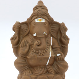 Sacrificial Clay Ganeshas