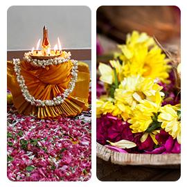 Duo Bhagavati Seva at Start and End of Aadi Month