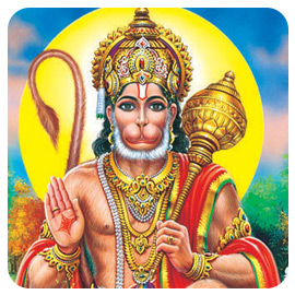 Hanuman Fire Lab and 1008 Vada Mala (Savory Dumpling Garland) to Hanuman