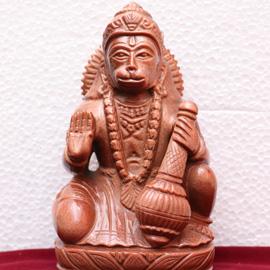 Sun stone Hanuman Statue
