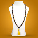 Hessonite and Tiger Eye Combination 108 Beads Mala