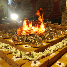 Homa Herbs Sponsorship for Shivaratri Ceremonies