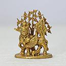 Energized 1.75 Inch Kamadhenu Statue