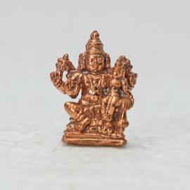 Energized Half Inch Lakshmi Narayana Statue