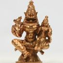 Energized 1.5 Inch Lakshmi Narasimha Statue