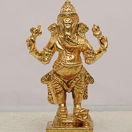 Metal Maha Ganapati Statue