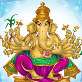 Group 45 Day Ganesha Program to Remove Obstacles