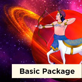 Saturn Direct in Sagittarius 2019 Basic Package