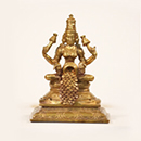 Energized 4 Inch Wealth Showering Lakshmi Statue