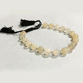 White Agate Stone Bracelet