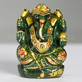 Energized 3 Inch Jade Ganesha