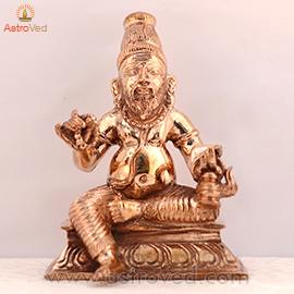 Energized 5 Metal 3 inch Agastya Statue