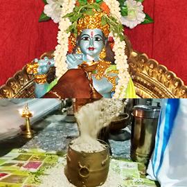 Archana and Avil Para Vazhipadu to Krishna at Kerala Powerspot