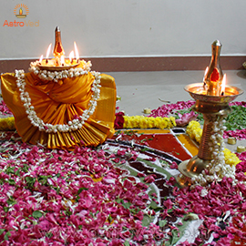 BHAGAVATI SEVA AT END OF AADI MONTH