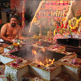 Grand Group Chandi Fire Ritual on Vijayadasami Live Webcast