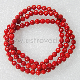 Energized Red Coral Mala