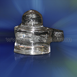 Energized Crystal Shiva Lingam (Medium Sized)