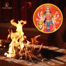 Individual Homa (Fire Prayer) to Goddess Durga (Ov